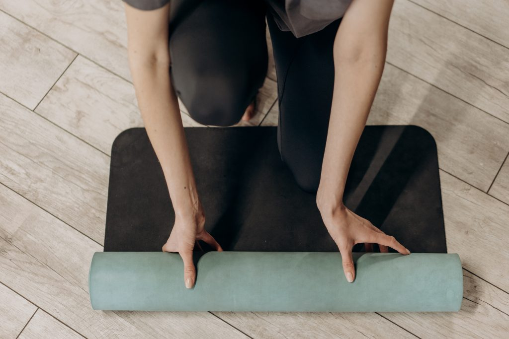 start a home yoga practice